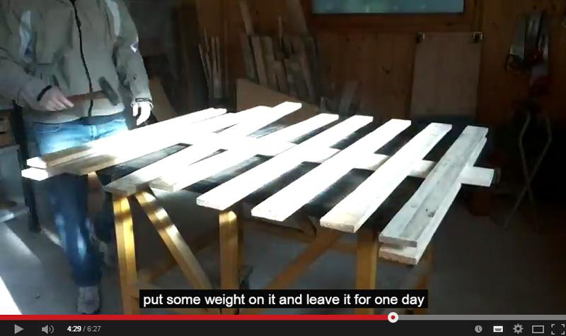 Vid o de comment faire un arbre de no l avec des - Comment faire un meuble en palette ...