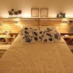 34 façons de décoration de votre maison en utilisant les palettes