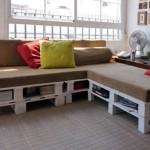 Construire un canapé de palettes en seulement 3 étapes faciles