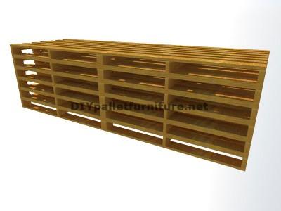 Guide étape par étape pour faire facilement un canapé chaise-longue avec palettes entières 1