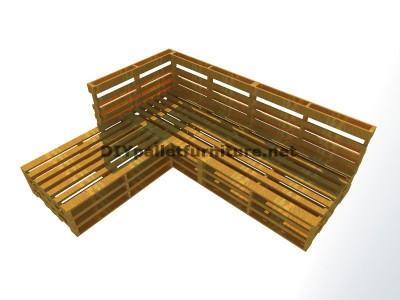 Guide étape par étape pour faire facilement un canapé chaise-longue avec palettes entières 5