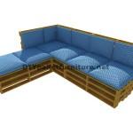 Guide étape par étape pour faire facilement un canapé chaise-longue avec palettes entières