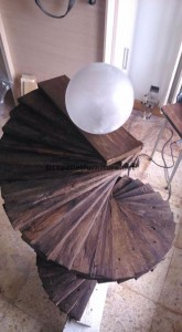 Lampadaire étonnante faite avec palettes 4