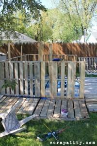 Projet de cabane de palettes le plancher de palettes 2