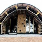 Slumtube pallet house en Afrique du Sud
