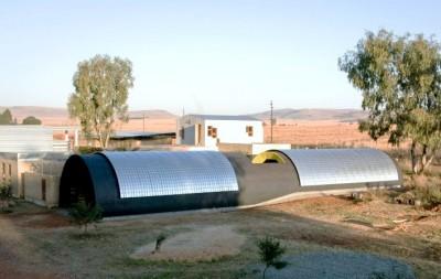 Slumtube pallet house en Afrique du Sud 3