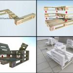 Guide pour construire un siège double utilisant des palettes
