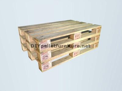 Guide pour construire un siège double utilisant des palettes 2
