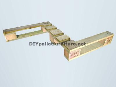 Guide pour construire un siège double utilisant des palettes 3
