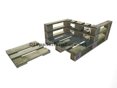 Guide pour construire un siège double utilisant des palettes 5