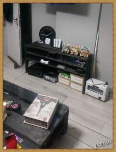 Salon entièrement meublé avec palettes 5