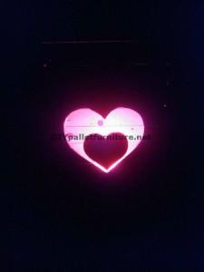 Valentine lampe faite avec palettes 7