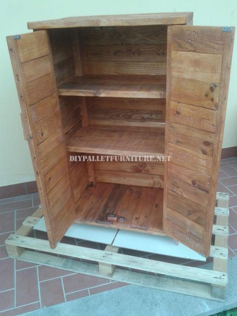Armoire En Bois De Palette : DIY Pallet Furniture