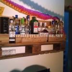 Bar étagère avec juste une palette