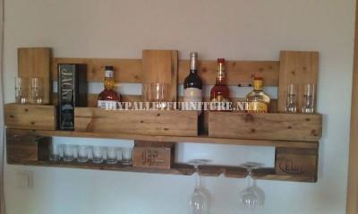 Bar étagère avec juste une palette 2