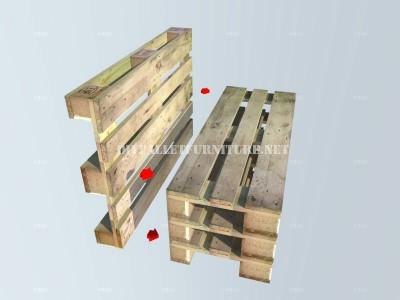 Comment faire un banc avec palettes tape par tapemeuble - Construire un banc avec des palettes ...