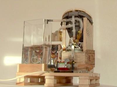 Une machine à café intégrée avec palettes! 1
