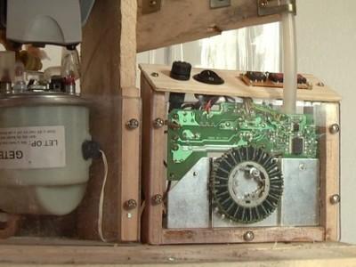 Une machine à café intégrée avec palettes! 3