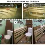 Cabinet auxiliaire pour une petite salle de bain