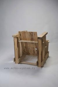 Echo-system propose un design très spécial pour un fauteuil avec palettes 5