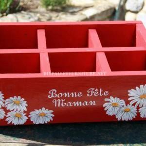 Petits jardinières décoratifs construits avec des planches de palettes 2