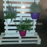 Support vertical pour les jardinières avec palettes