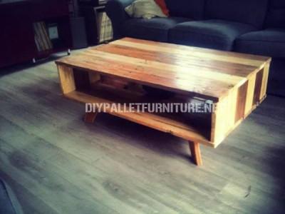 Table de Conception faite avec palettes