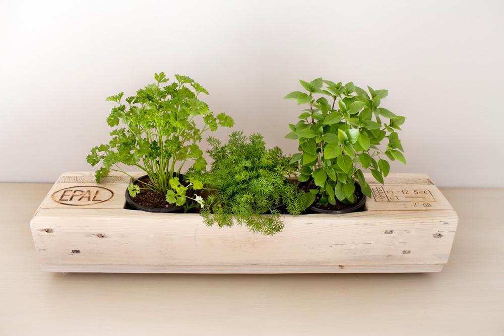 18 exemples de jardini res faites avec des palettes avec - Jardiniere avec palette ...