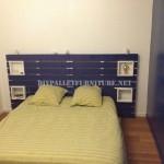 4 bons exemples de têtes de lit de palettes