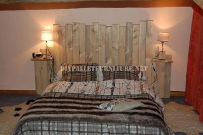 4 bons exemples de têtes de lit de palettes 3