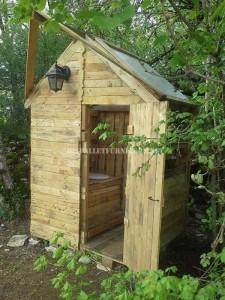Cabane avec salle de bains 1
