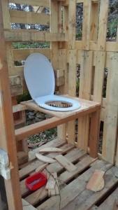 Cabane avec salle de bains 4