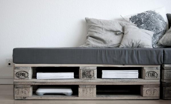 Canapé super facile à construire avec seulement 6 palettes 2