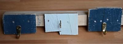 Simple portemanteau fait de planches de palettes 2
