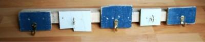 Simple portemanteau fait de planches de palettes 3