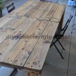 Les 30 meilleures tables construits avec des palettes