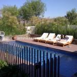 Des exemples de palettes longues pour une piscine