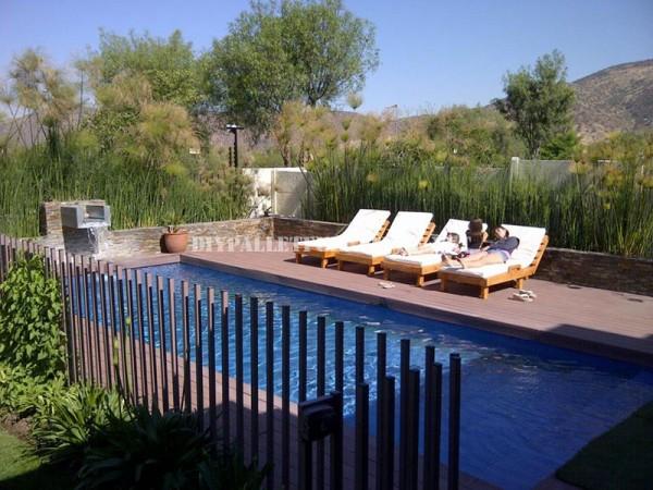Des exemples de palettes longues pour une piscine 4