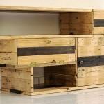 Excellente meuble de télévision de Recup & Design