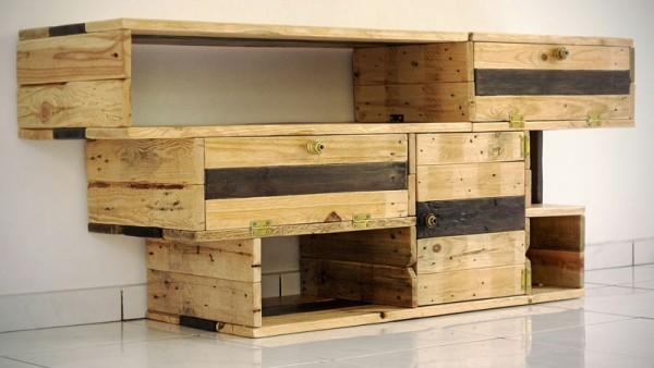 Excellente meuble de télévision de Recup & Design 1