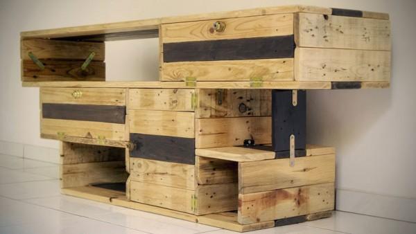 Excellente meuble de télévision de Recup & Design 3