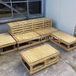 Plans pour construire des bancs de palettes modulaires
