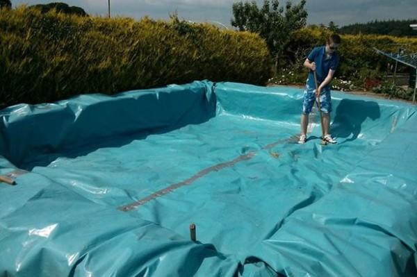 Projette pour construire une piscine avec palettes 4