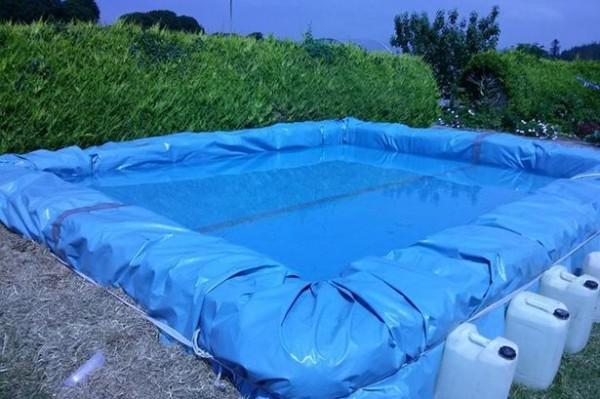 Projette pour construire une piscine avec palettes 5
