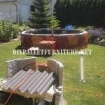 6 piscines construites avec des palettes