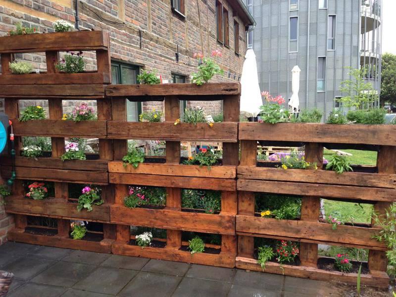 Voici 12 Incroyables Projets R Aliser Facilement Dans Votre Jardin Partir De Palettes De