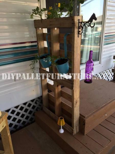 Comment décorer la terrasse de votre maison mobile avec des palettes 7
