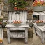 Décoratif présentoir pour le jardin