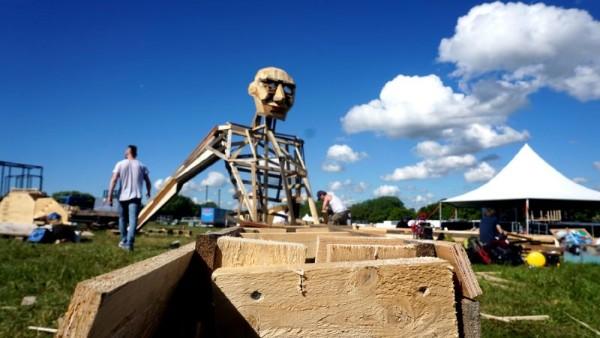 Ben Chiller, le géant de Thomas Dambo 4