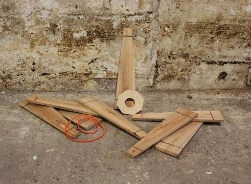 Lampe suspension avec la palette planche 6